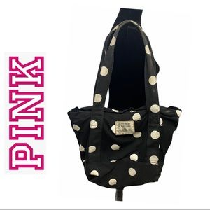 2/$20 🛍️ Pink Victoria's Secret Black Tote